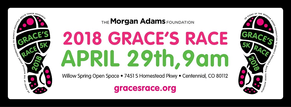 Grace's Race April 25 pediatric cancer
