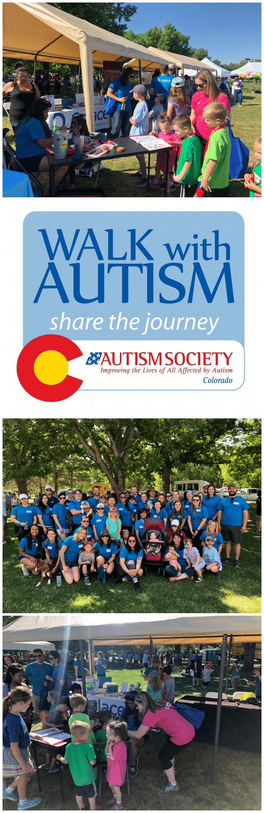 giving solace walk with autism
