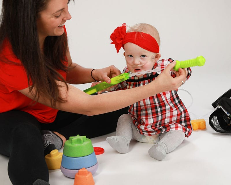 Home based therapy for children