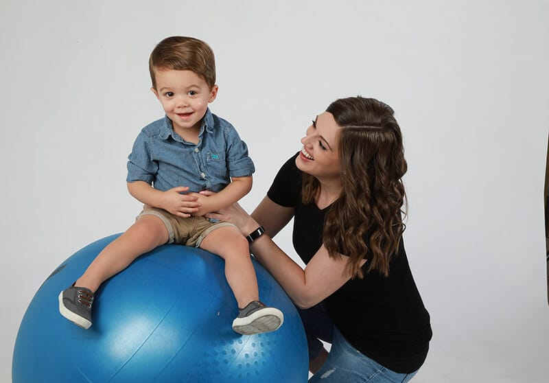 Causes of weak core muscles in toddlers