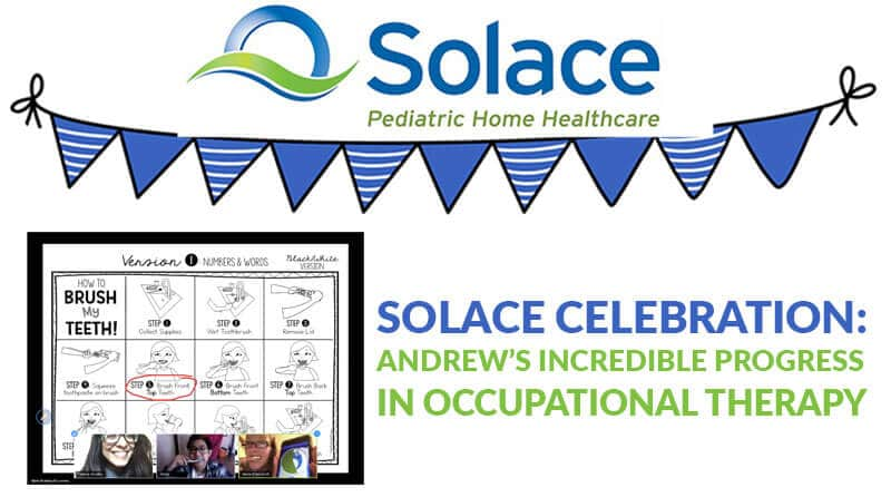 Solace Celebration: Andrew's Occupational Therapy